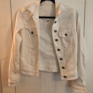 Kut from the Kloth White Jean Jacket